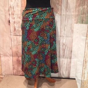 Lularoe Simply Comfortable 2X flared skirt. P120